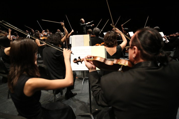 2017, Orquesta Sinfónica Sinaloa de las Artes, Debut Concert as Chief Conductor, Teatro Pablo de Villavicencio, Culiacán México.