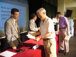 Entrega de Diplomas 2007