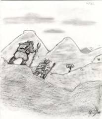 dibujo rutas