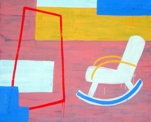 El pintor y el espejo_ Óleo sobre lienzo_ 130x162 cm. 1999