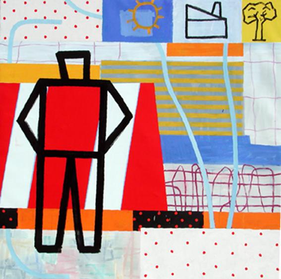 El sembrador de sueños II_Óeo sobre lienzo_200x200 cm_2005