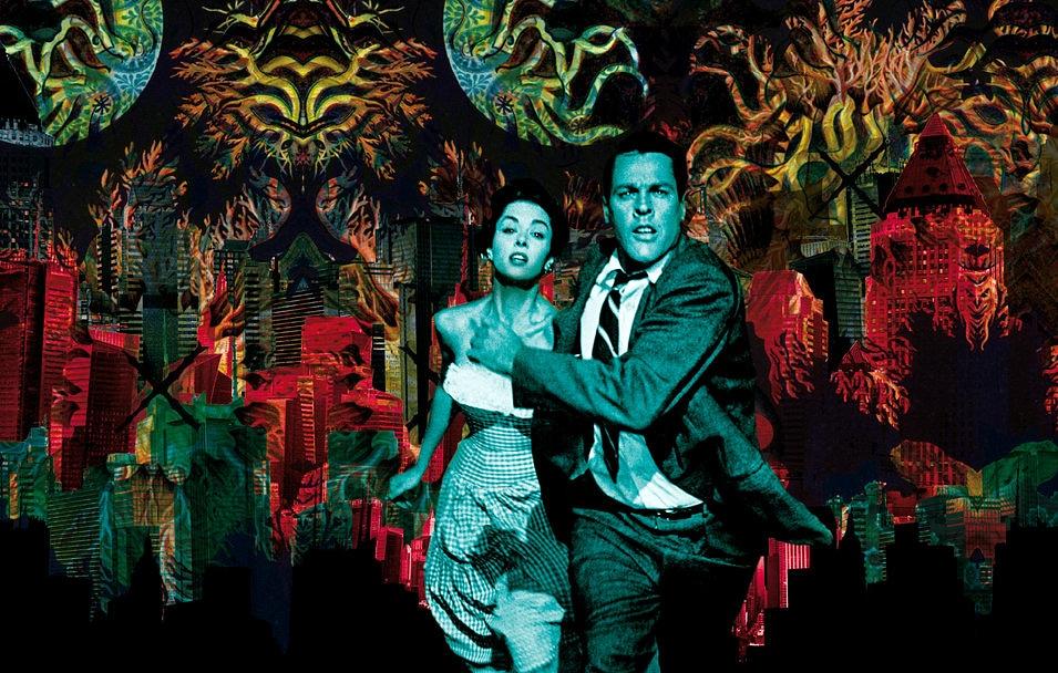 Mutant city. Digital Collage