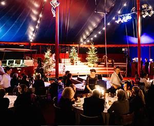 Mignon Weihnachtsfeier mit großer Showbühne