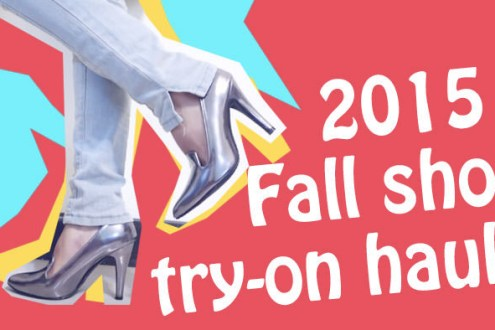 影音|穿給你們看我秋天買的鞋子!2015 Fallshoe try-on haul