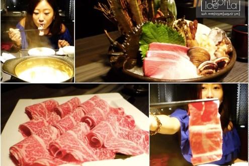 影音|貴婦百貨內的合shabu頂級火鍋 海鮮新鮮牛肉超好吃氣氛也棒到炸