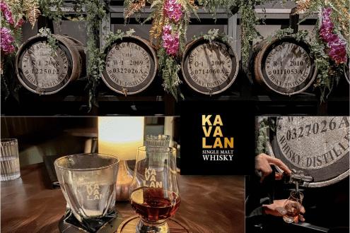 台北》眼睛一亮的台灣特色酒吧!KAVALAN WHISKY BAR 噶瑪蘭威士忌酒吧 威士忌調酒、單桶原酒汲酒直飲