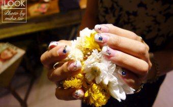 東區晶漾凝膠七月小記錄:就是要做法式!彩色碎鑽糖霜法式好甜啊~