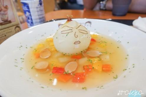 日本》東京台場小丸子餐廳限定店 可愛的永澤洋蔥頭怎麼捨得喝/延長營業中