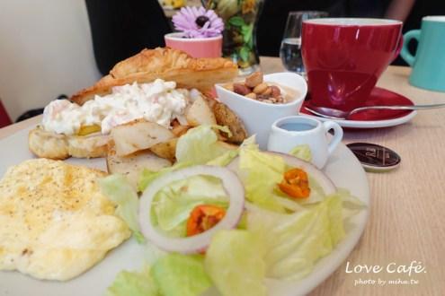 台北》南京三民站咖啡廳RB Cafe 採光棒餐點好吃 捷運站旁的不限時咖啡廳