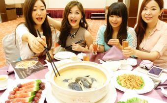 台北》晶宴會館 讓人驚艷的「六人砂鍋雞湯餐」不限平假日$3600 c/p值破表!