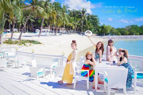 宿霧》Pacific Cebu Resort戶外超美也有自己海灘 房間雖然乾淨但非常陽春