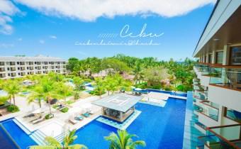 宿霧》海藍渡假村三層泳池c/p值破表的Henann Alona Hotel