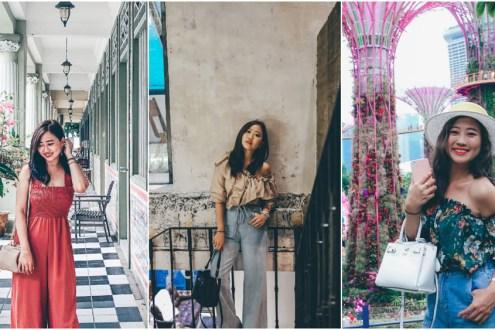 【新加坡穿搭】夏季透氣涼爽這樣穿x三款Pixy出國日常實用好搭時髦輕奢包