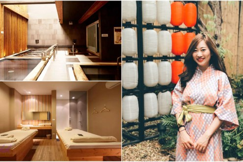 曼谷》湯之森日式溫泉館 可以泡湯又能按摩的超舒服SPA 非常乾淨觀光客不多很推薦