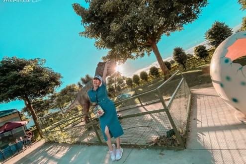 桃園》有恐龍的7-11祥綸門市 桃園高鐵站旁的侏羅紀世界 青埔網美景點