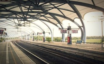 [火車環島]  冬山車站,宜蘭最美的瓜棚式車站