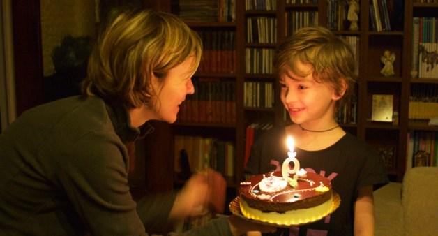 David la 9 ani