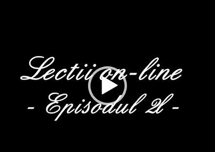 Izolați de matematica la domiciliu - Curs video ON-LINE 3