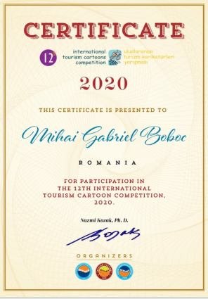 Turkey - Tourism Cartoonn 2020