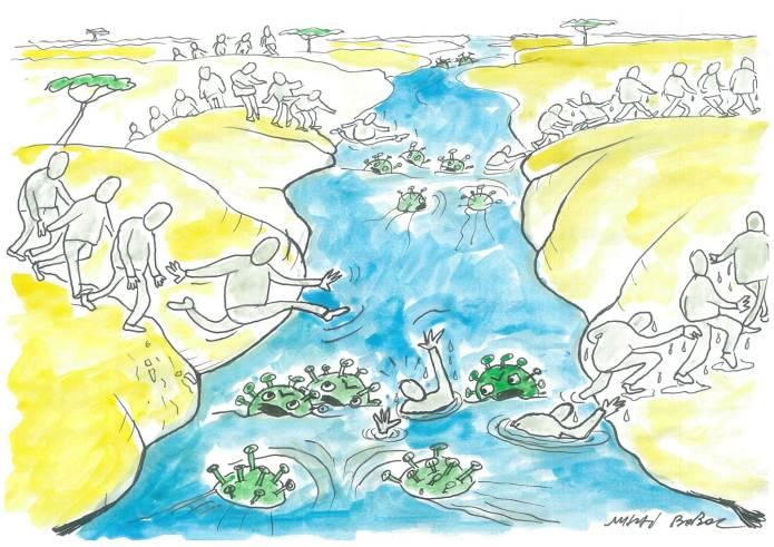 Marea migrație... la Valul 4 5