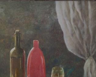 Натюрморт с красной вазой. Часть 3. Михаил Симонов.