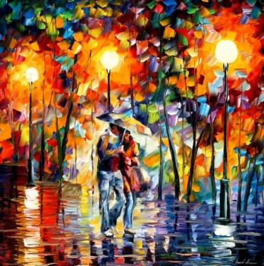Leonid_Afremov_glowing love