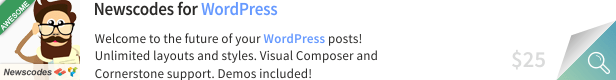 Newscodes - News, Magazine and Blog Elements for WordPress 9