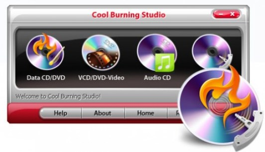 Cool Burning Studio 9.04 with Serial Key Free