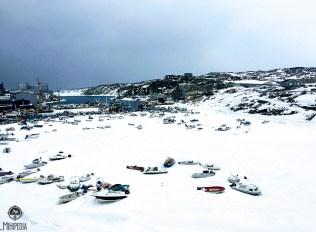 Ilulissat's Frozen Harbour