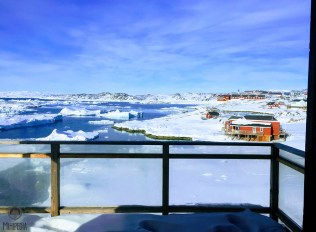 View from Ilulissat Guesthouse