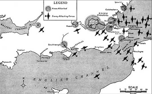 mapa ataque inglaterra