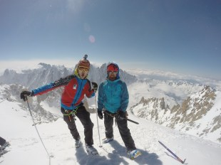 On the top with Ionel