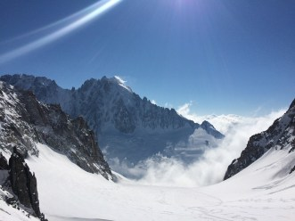 View from Col de Chardonet. @Ionel Suciu