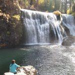 【シャスタ】あるがまま、感じるままに自然に溶けていく~紅葉のマクラウドの滝で(その2)~