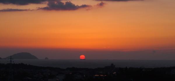 夕日がきれい, sunset thanks