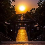 嵐のCM「光の道」2018年の宮地嶽神社の情報!アクセスは?駐車場は無料?