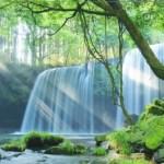 【九州パワースポット】滝がすごい!龍神の滝!癒しと浄化!滝の裏側までまわれる