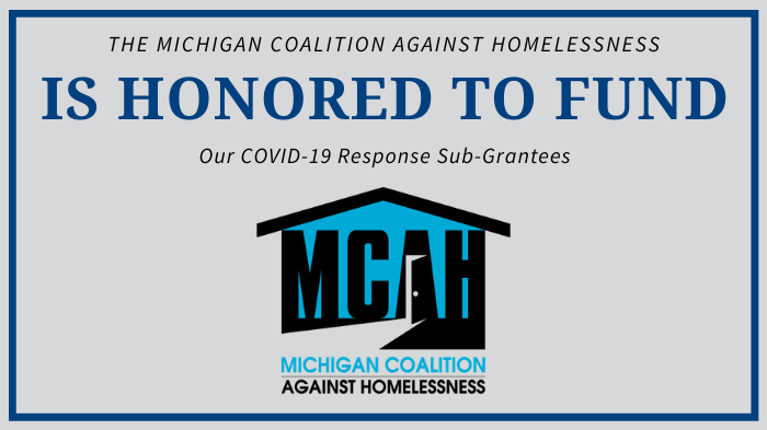 Michigan Needs More Funding for Homeless Service Providers During COVID-19