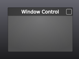 Window Control: Custom Icon