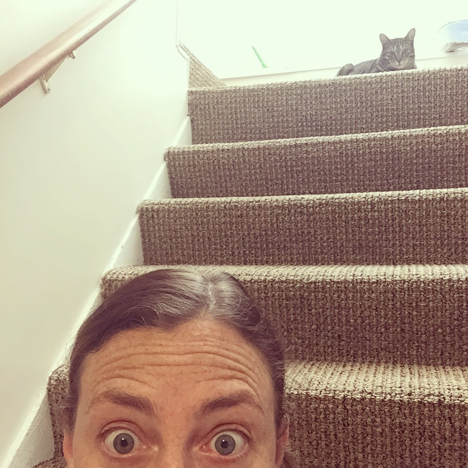 Selfie with a Side of Cat