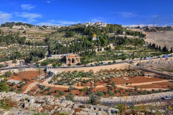 The Mount of Olives - Jerusalem