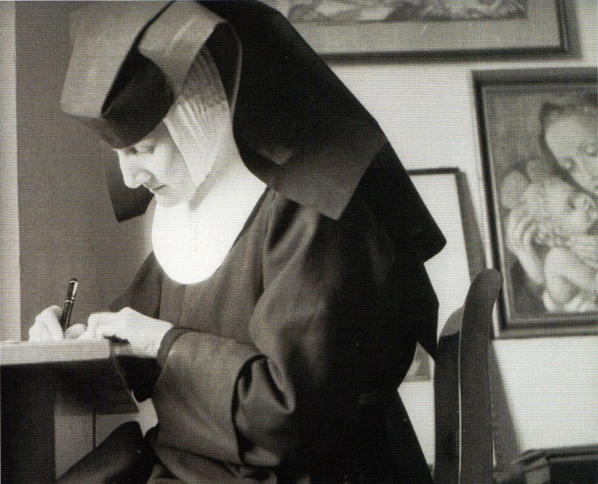 Last photograph of Sister Hummel in 1944