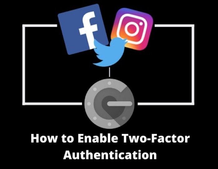 Как включить двухфакторную аутентификацию на Facebook, Instagram и Twitter