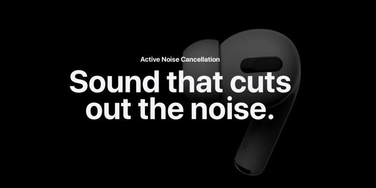 AirPods Pro: как использовать шумоподавление и прозрачность