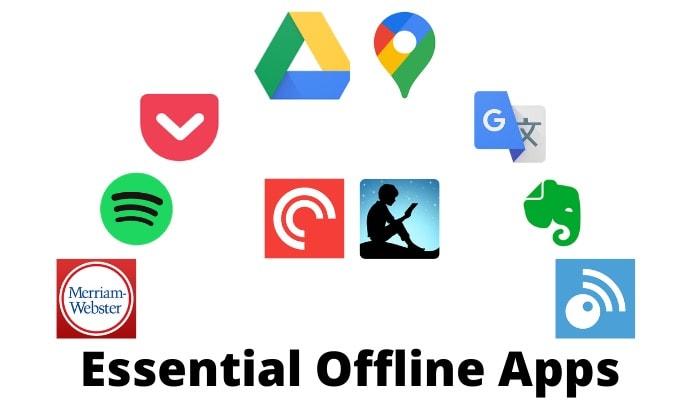 10 основных автономных приложений (Android и iOS), когда у вас нет подключения к Интернету