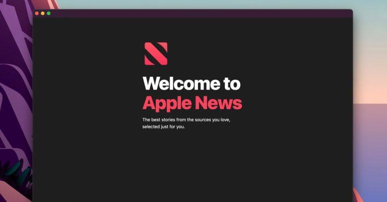 Как исправить ошибку загрузки Apple News в macOS Big Sur