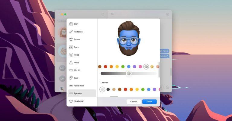 Как создать Memoji на Mac с macOS Big Sur