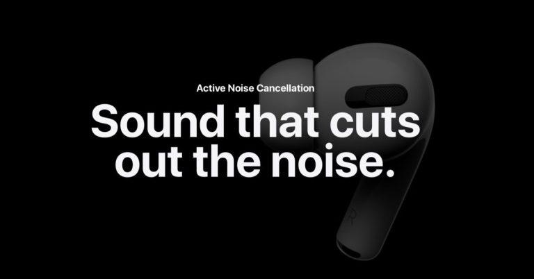 Как использовать шумоподавление и прозрачность AirPods Pro