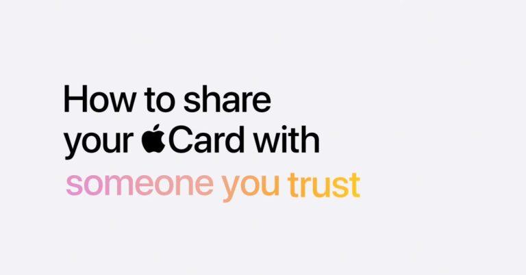 Вот как поделиться Apple Card с совладельцем и семьей