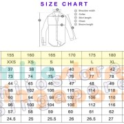 Pilot Uniform - Sizing Chart